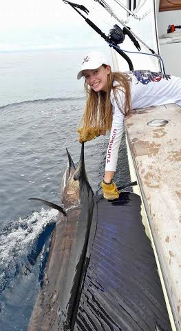 An anglers dream-catching a sail fish and sport fishing while visiting Costa Rica.