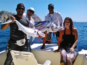 Take a fishing trip on the gulf of nicoya and see what you end up with!