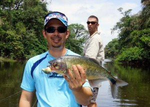 Take or book a Machaca fishing trip and see what freshwater fishing is all about in Costa Rica.
