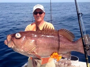 Fish for Grouper while visiting Costa Rica. Charter a boat and head out with grouper in mind.