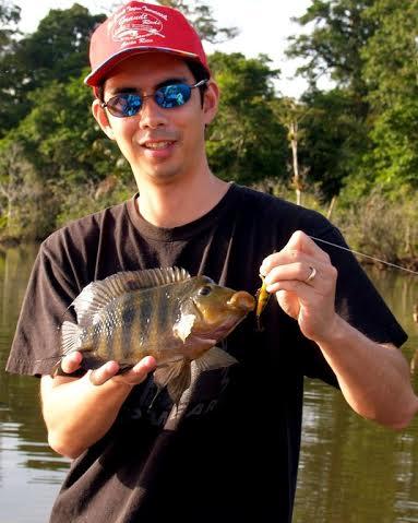 Larger mojarra make a great eating fish.