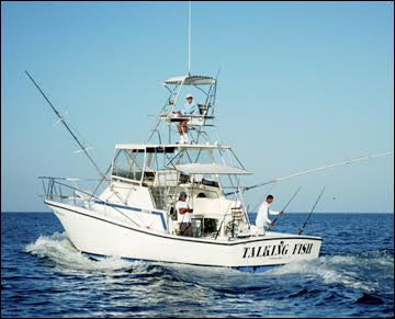 Charter a fishing trip while you are in Tamarindo