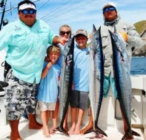 Wahoo fishing trip while visiting Costa Rica